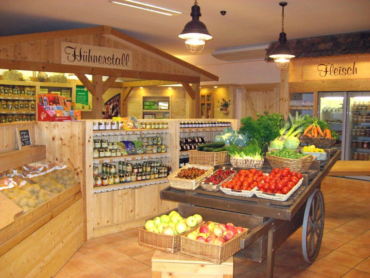 frisches Obst und Gemüse vom Bauern