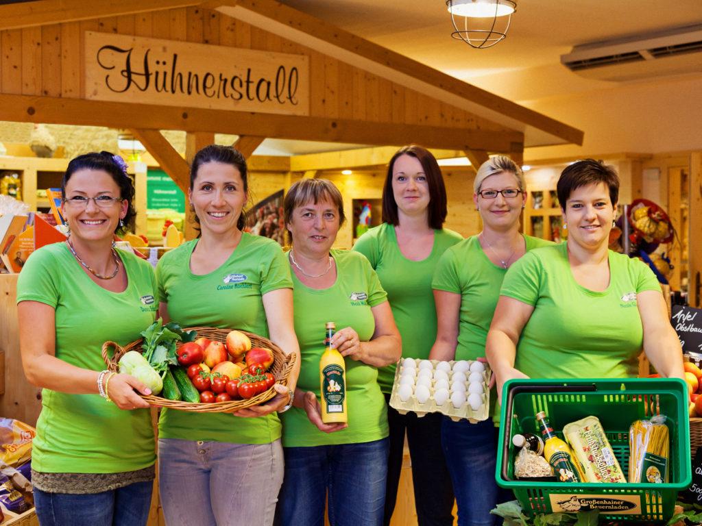 das Team vom Bauernladen